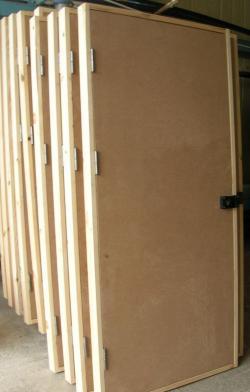 Межкомнатные строительные двери